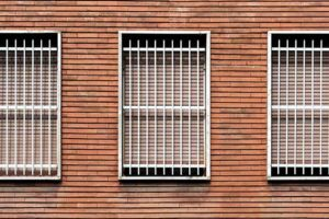 an example of window security bars